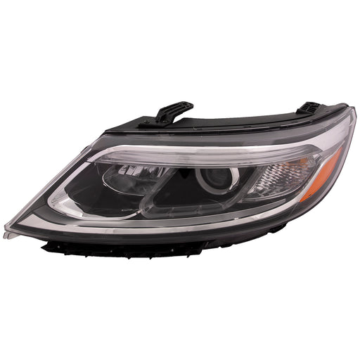 Headlight Halogen w/Auto Level Control (w/o LED Accents) Driver Left Fits 2014-2015 Kia Sorento LX