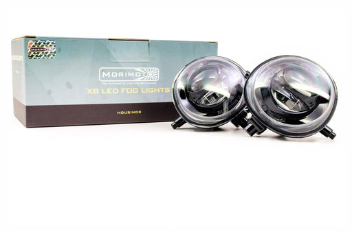 Morimoto XB LED Plug And Play Fog Lights Set With Black Housing For Mazda 2 3 5 6 CX-5 CX-7 CX-9 MPV MX-5 Miata RX-8