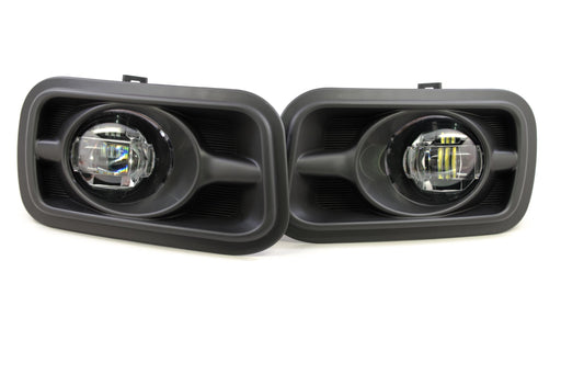 Morimoto XB LED Plug And Play Fog Lights Set With Black Housing For Horizontal Type Ram 1500 2500 3500