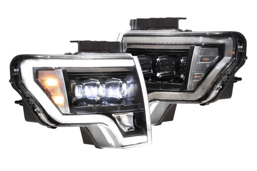 Morimoto XB LED Plug And Play Headlights Set With Black Housing For Ford F-150 09-14