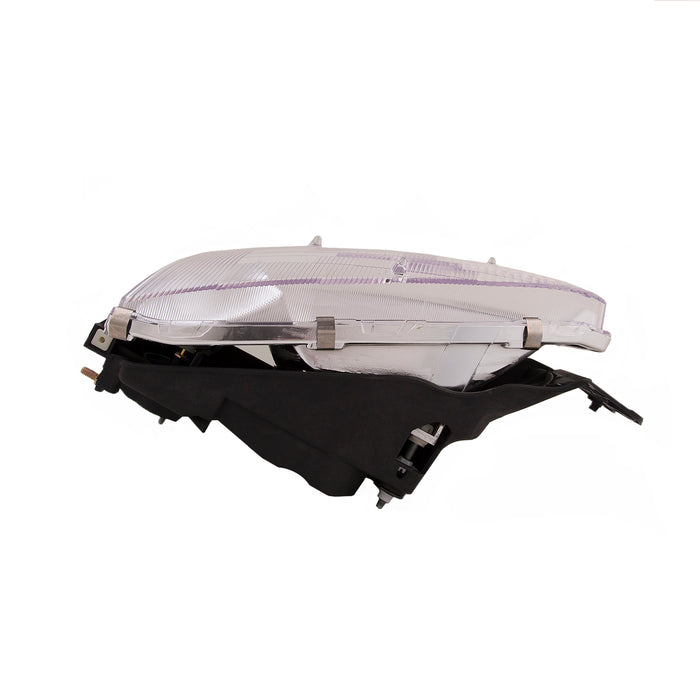 1997-2002 Mitsubishi Mirage Passenger Front Headlight Right Halogen Headlamp Assembly (2-Door Coupe Only)