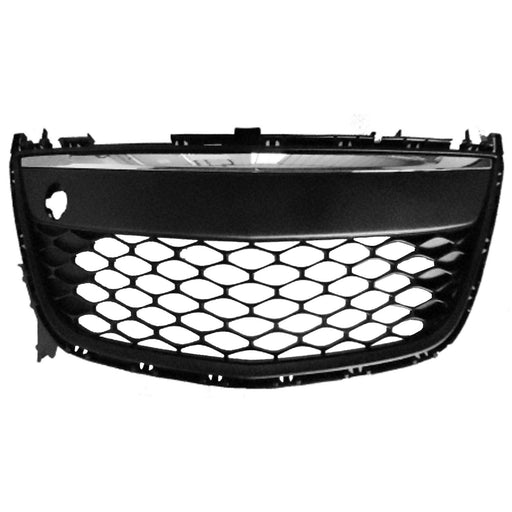 Front Bumper Grille Chrome And Black For 2010-2012 Mazda CX-7 w/Fog Light