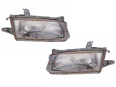1995-1996 Mazda Protege New Headlights Set