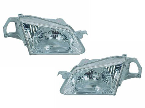 1999-2000 Mazda Protege New Headlights Set