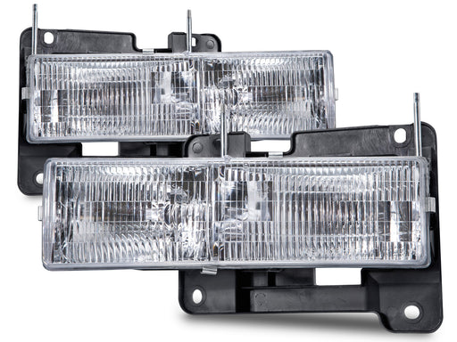 Fleetwood Discovery 1999-2002 Motorhome RV Front Headlights Set