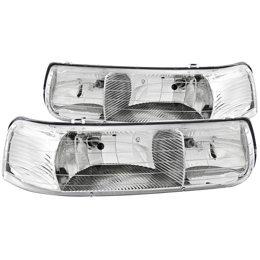 Winnebago Vista 2007-2009 Motorhome RV Diamond Clear Front Headlights Set