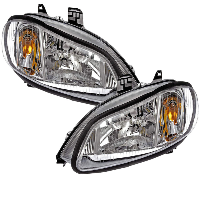 Renegade Renegade Motorcoach 2013 Motorhome RV Left and Right Chrome Headlights Pair