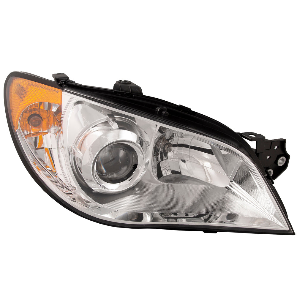 Headlight Halogen (w/o HID) Right Passenger Fits 2007 Subaru Impreza