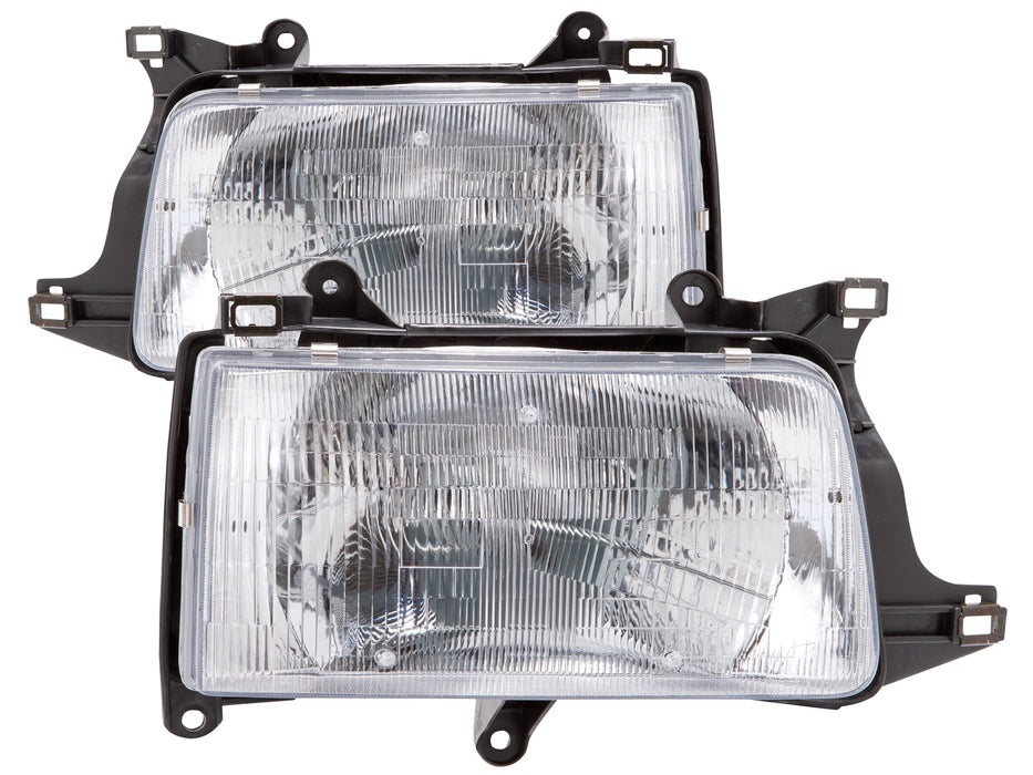 PERDE 1993-1998 Toyota T100 Chrome Headlights w/Performance Lens