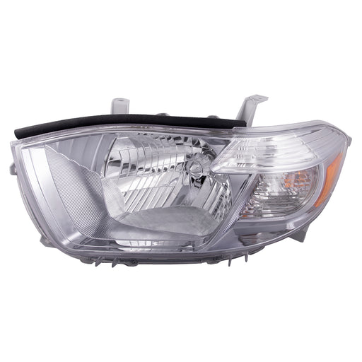 2010 Toyota Highlander Base/Limited/SE (USA Built) Left Driver Side Headlight Replacement Assembly