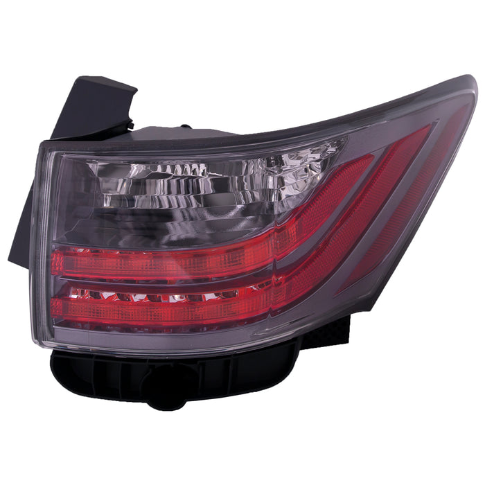 Tail Lights Right Passenger On Body Pair 2011-2014 Lexus CT200h