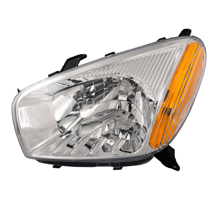 2001-2003 Toyota Rav4 New Headlight Driver Left Halogen Headlamp w/o Sports Package Assembly