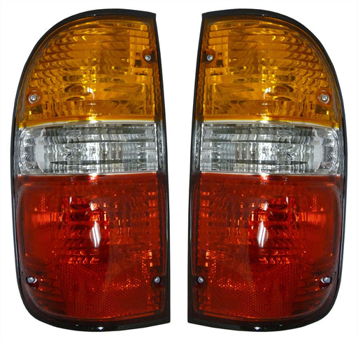 2001-2004 Toyota Tacoma New Brake Lights Taillights Set Pair