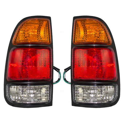 2000-2006 Toyota Tundra New Tail Lights (Regular Cab/Access Cab) Left Right Set Pair Assembly