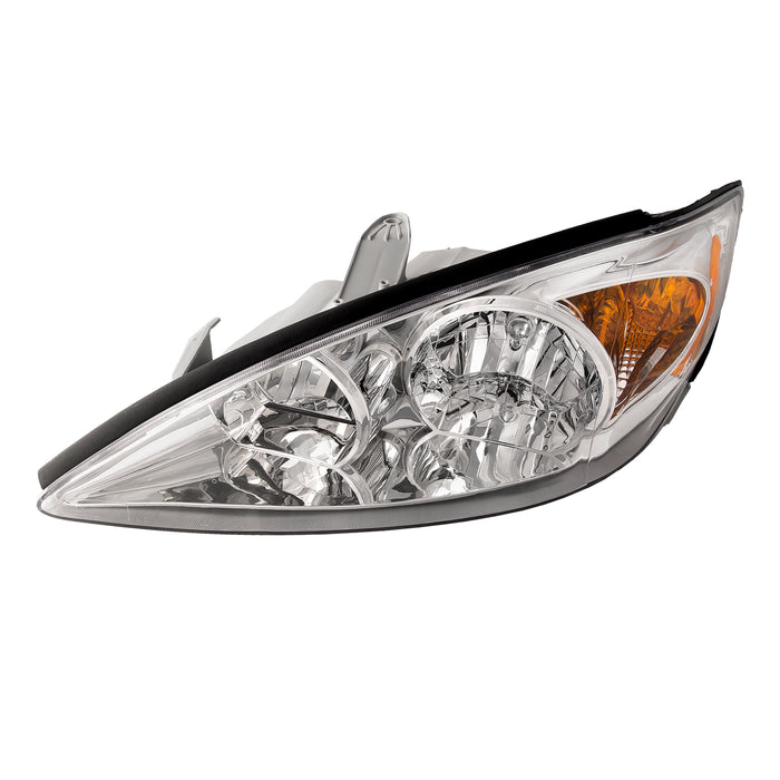 2002-2004 Toyota Camry LE/XLE Chrome Headlight Driver Side New