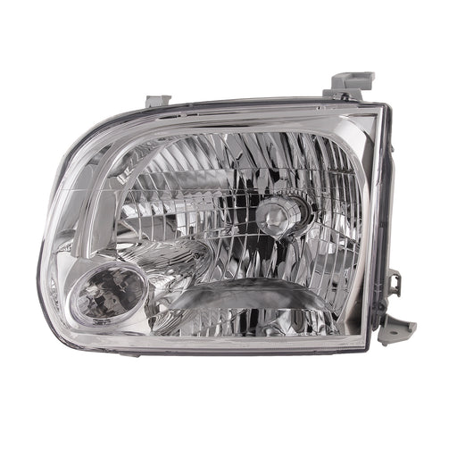 Headlight Driver Left Side Fits 2005-2007 Toyota Sequoia/2005-2006 Tundra (Double Cab ONLY)