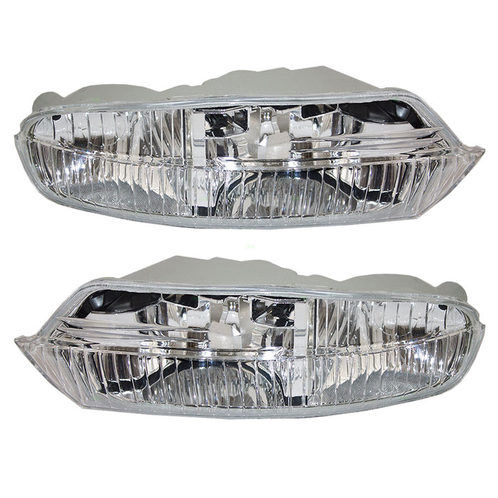 04-06 Lexus LS430 Fog Light Pair Left Driver Right Passenger