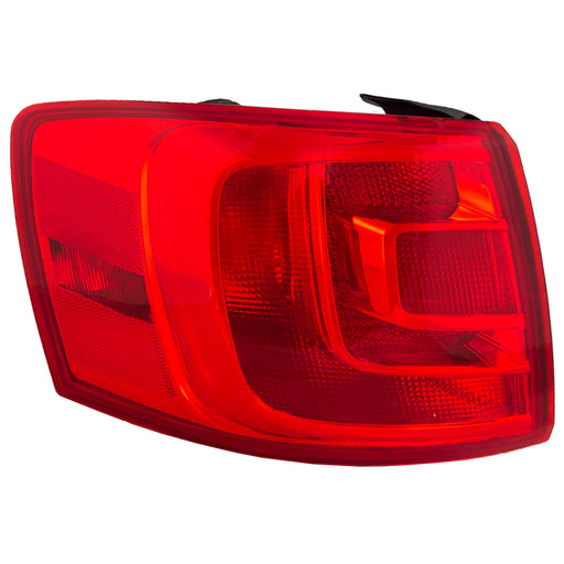 Outer Tail Light Left Driver Side For VW Jetta 2011-2016 Sedan (w/o Fog)