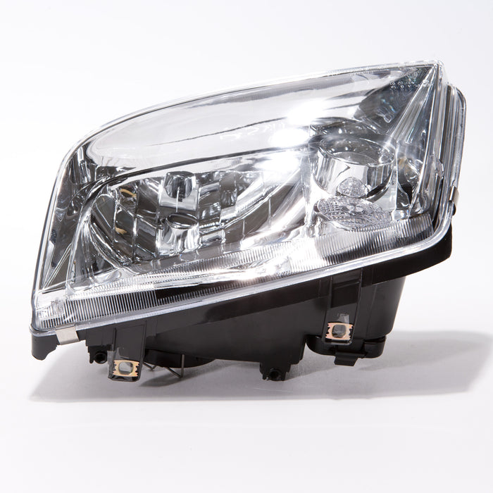 1999-2002 Volkswagen Jetta Driver Side Halogen Headlight w/o Fog Lamp Left (Non-HID) Headlamp Assembly