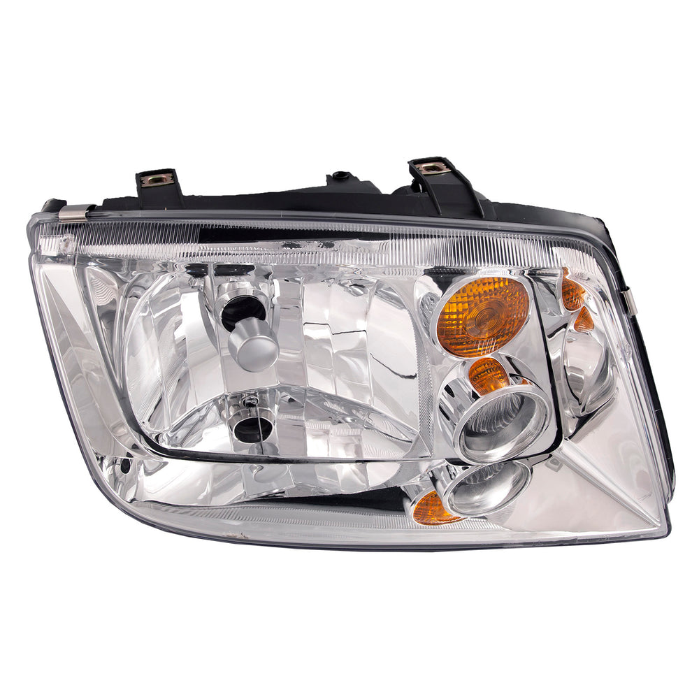 2002-2005 Volkswagen Jetta Passenger Side Headlight w/o Fog Light