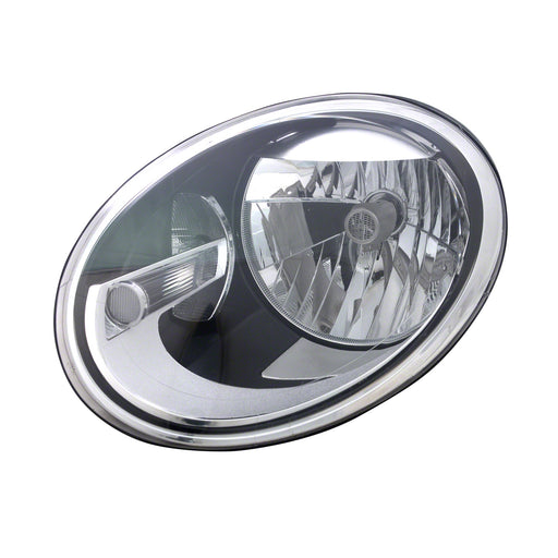 Headlight Left Driver Side Halogen Headlamp Fits 2012-2018 Volkswagen Beetle