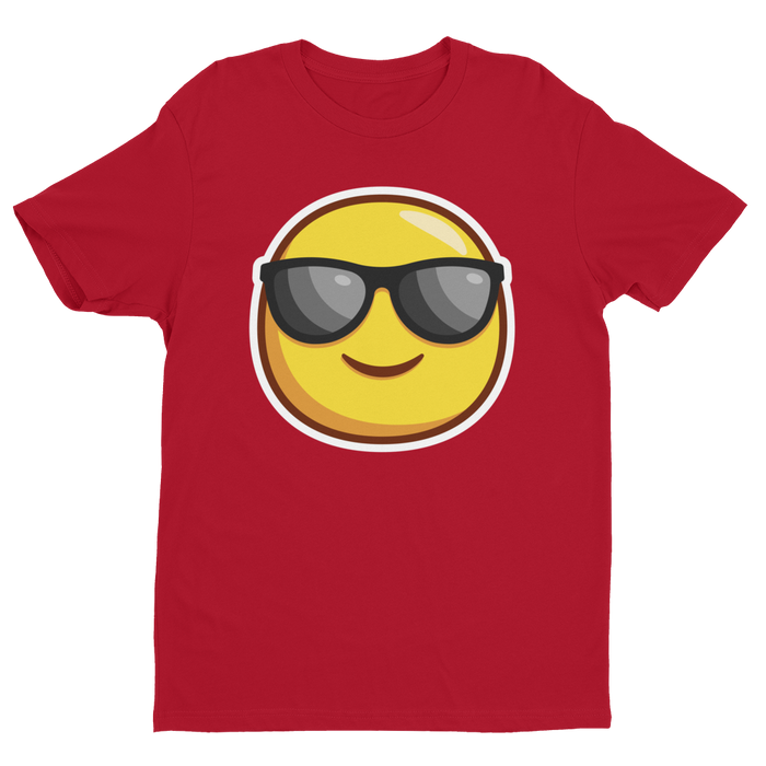Cool Guy Emoji Short Sleeve Next Level T-shirt