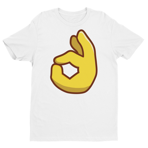 OK Emoji Short Sleeve Next Level T-shirt