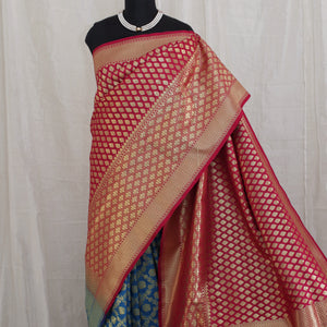 Banarasee katan silk saree 101