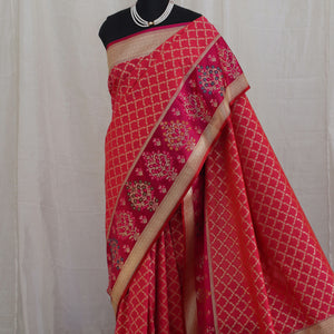 Banarasee Katan Silk Saree 100