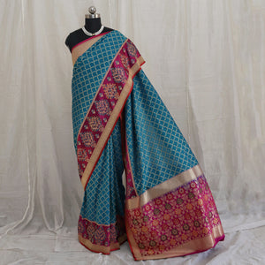 Banarasee Katan Silk Saree 099