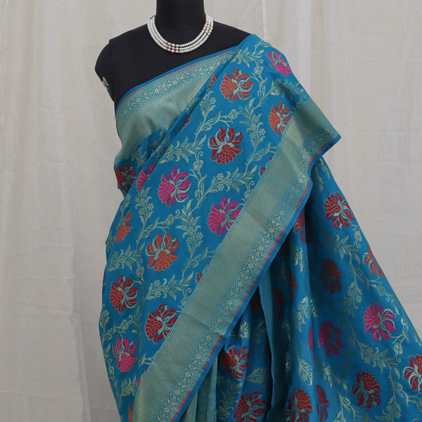 Banarasee Katan Silk Saree 093