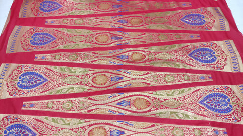 BANARASEE MEENAKARI KALIDAAR SILK LEHENGA- 003- Made to Measure