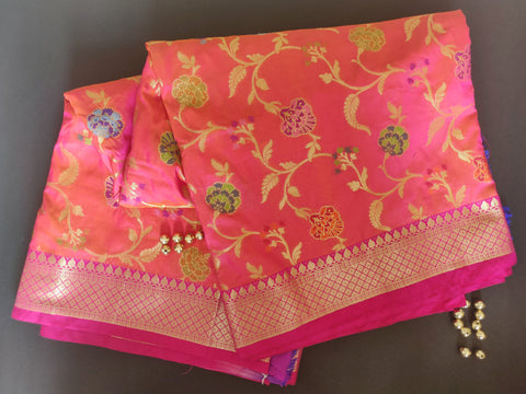 Banarasee Katan Silk Saree 079