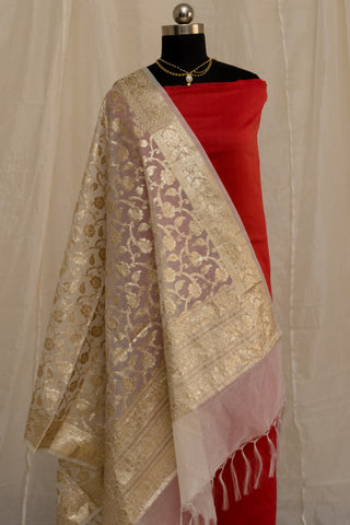 Banarasee Cotton Dupatta 785
