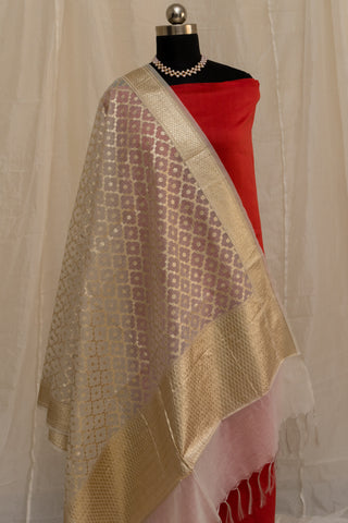 Banarasee Cotton Dupatta 783