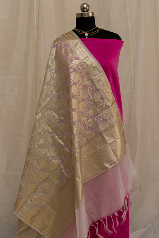 Banarasee Cotton Dupatta 786