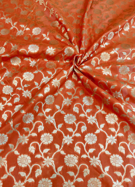 Banarasee Katan Silk Fabric 062
