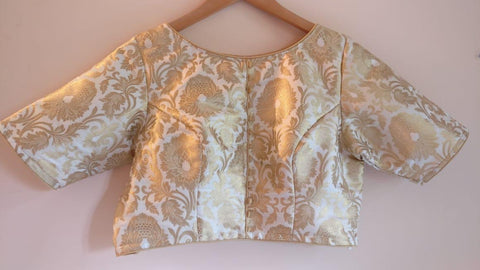 Banarasee Brocade Silk Blouse 03