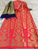 BANARASEE SILK KALIDAAR LEHENGA 017 - Made to Measure