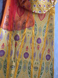 BANARASEE MEENAKARI KALIDAAR SILK LEHENGA 011 - Made to Measure
