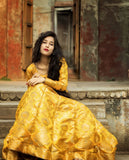 Banarasee Silk Anarkali 02