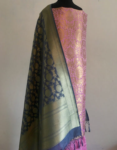 Banarasee silk suit 119