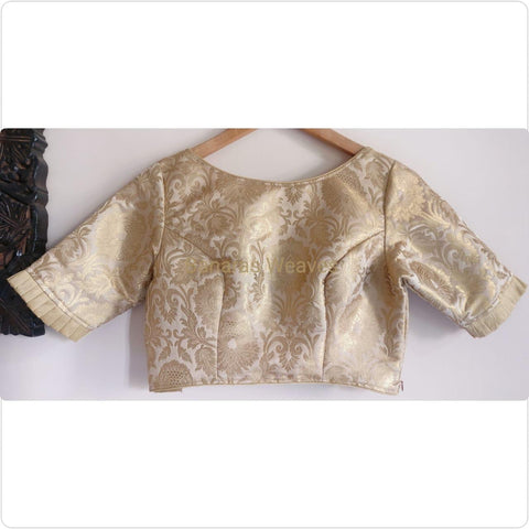 Banarasee Brocade Silk Blouse 014