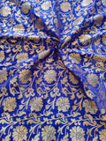 Banarasee Satin Brocade Silk Fabric 078