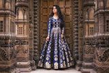 Banarasee Silk Anarkali 03