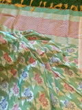 Banarasee pure Chanderi Silk Dupatta 045