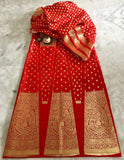 BANARASEE SILK KALIDAAR LEHENGA- 027- MADE TO MEASURE