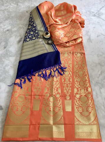 BANARASEE SILK KALIDAAR LEHENGA- 030- MADE TO MEASURE
