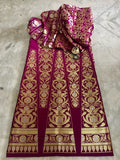 BANARASEE SILK KALIDAAR LEHENGA- 024- MADE TO MEASURE