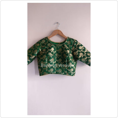Banarasee Brocade Silk Blouse 010